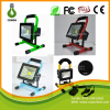 Newest products 10W 20W 30W 50W ac85-265V work light Cordless portable rechargeable battery outdoor led flood light