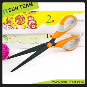 "SC201BP 6-1/2"" special treatment black coating office scissors"