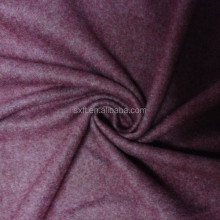 80% baumwolle 20% polyester stricken melange CVC 3-thread fleece stoff