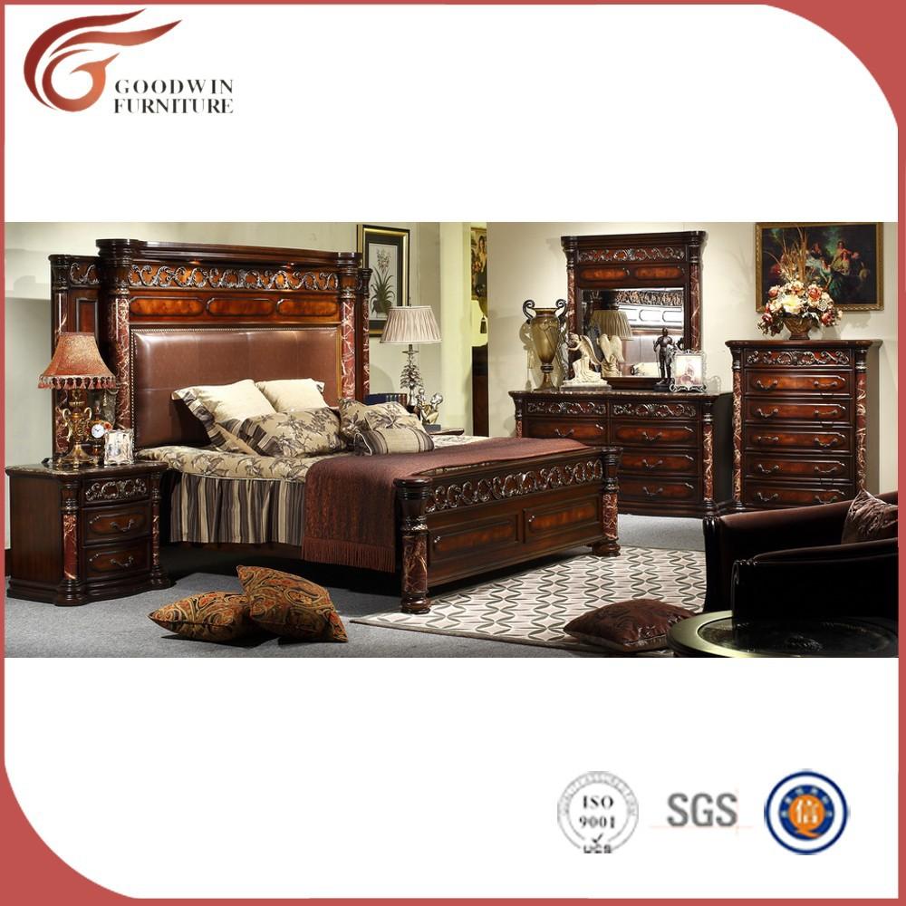 Venta al por mayor barroco muebles de dormitorio compre - Dormitorio barroco ...