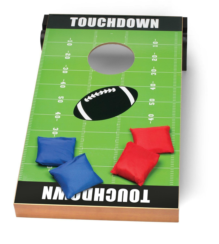 Outdoor Backyard Bags Football Target Board Lawn Set Kids Size Bean Bag Toss