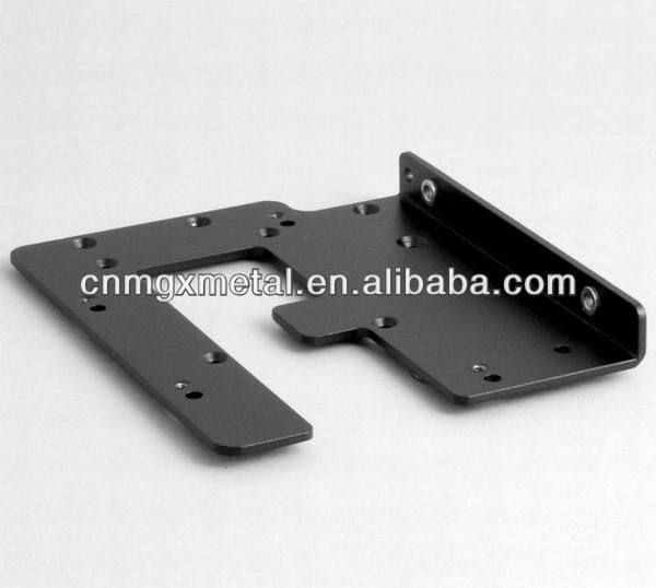 custom sheet metal fabrication stamping video camera side plates