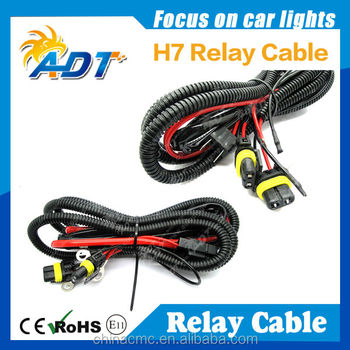H3 H4 H7 H11 9005 9006 Hid Conversion Kit Relay Wire Harness ...