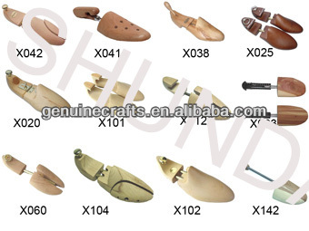 Lotus Wood Shoe Tree Stretcher & Shaper