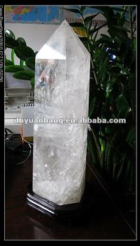 Natural Big Rock Quartz Crystal Point Crystal Prism Crystal Wand ...