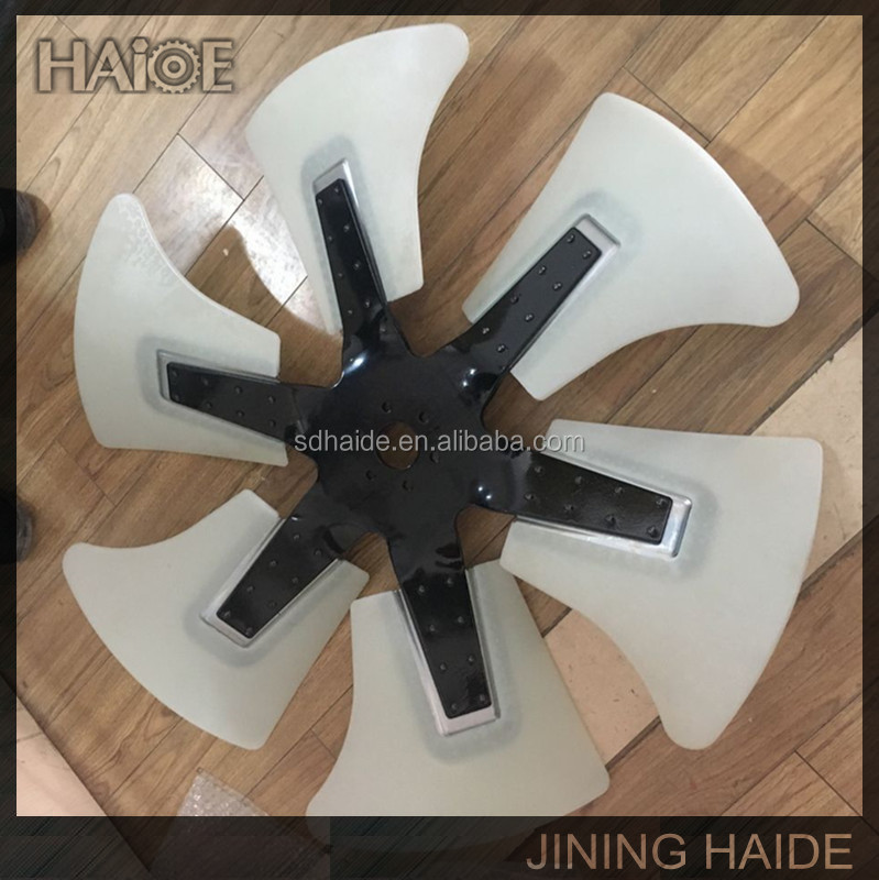 High Quality PC300-7 Engine Cooling Fan Blade For PC300-7 Excavator