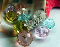 furnace color bead,rondelle loose crystal beads