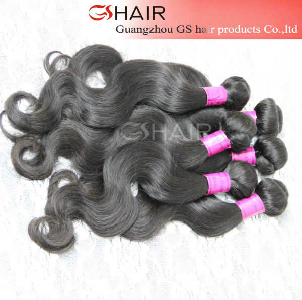Factory price dyeable full cuticle top 10 ocean wave human brazilian hair weaving