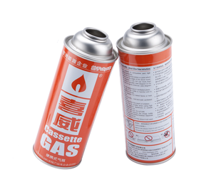 220g~250g Butane Gas Aerosol Can with Valve and Cap
