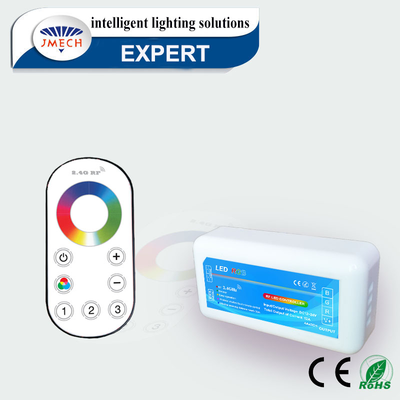 rf controller led for home control RF Wireless led dimmer rgb adjust brightness switch programmable