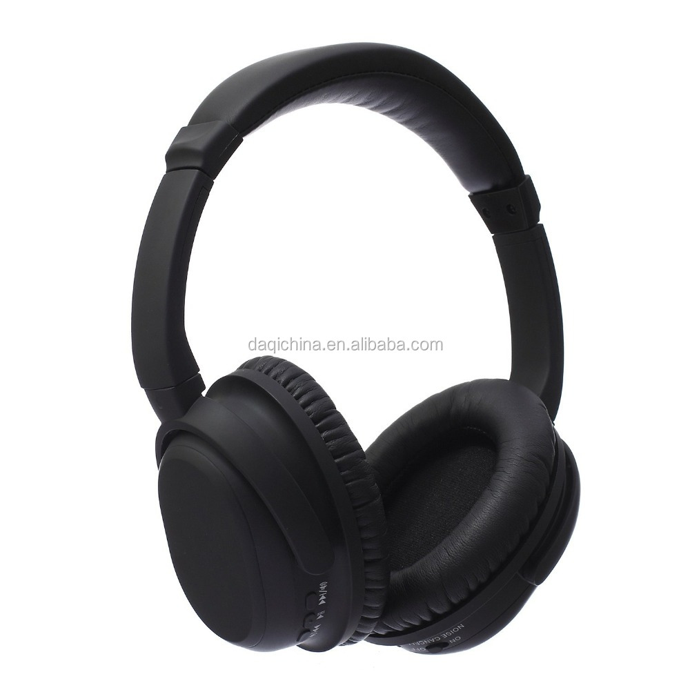 HIFI wireless stereo bluetooth headset / active microphone isolation headphone