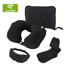 Hot selling cheap price wholesale sleeping travel kit