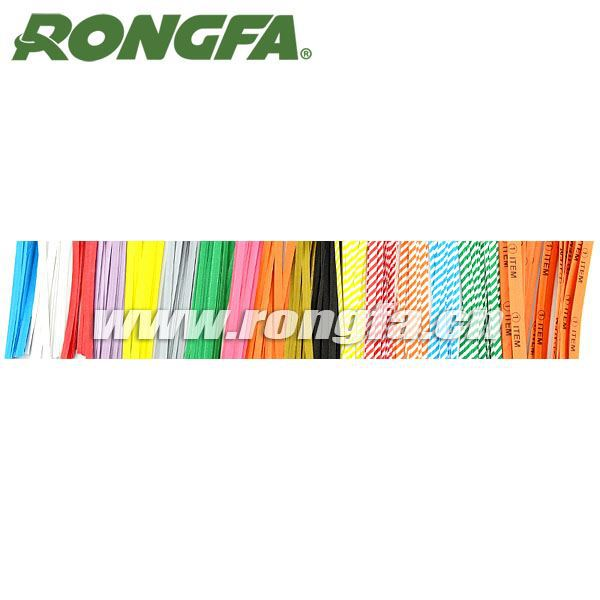 bag sealing ties paper printed vegetables twist tie