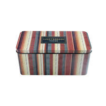 Large rectangular Tin metal cake bread cookie storage box with wholesale price