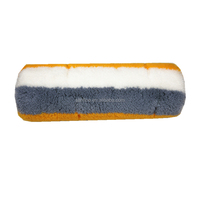 European style paint roller refill textured paint roller cover