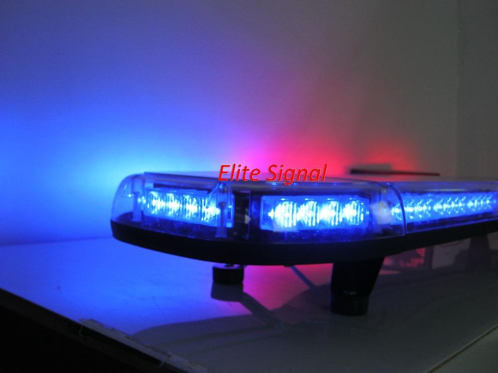 Gen3 1 W TIR4 из светодиодов MINI lightbar, 56 шт светодиоды, Ультрафиолетовый скольжению пк корпус, 16 мигающий узоры