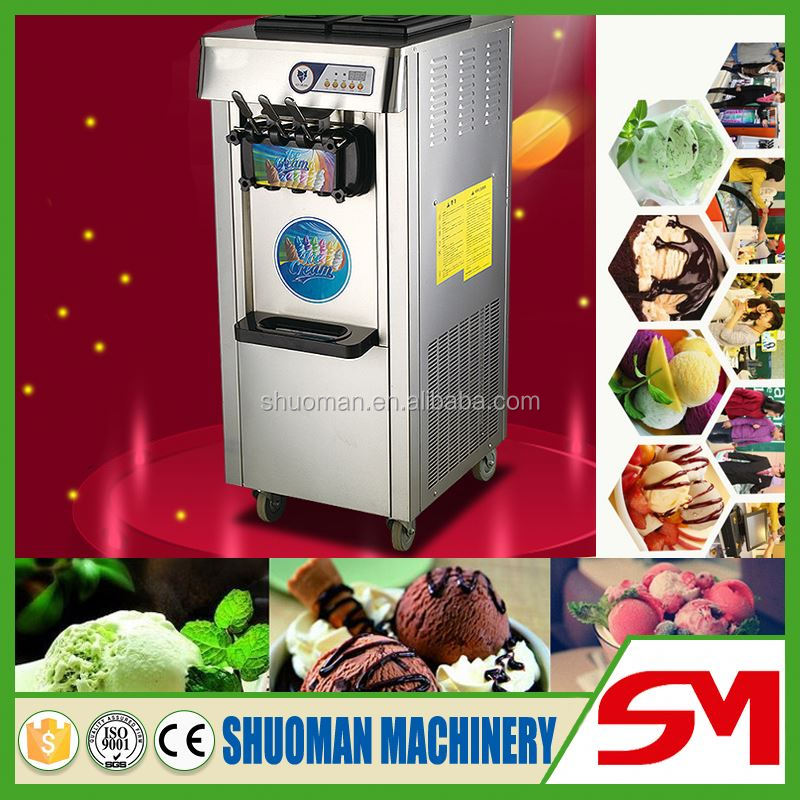 Table top and standing style available ice cream cone filling machine