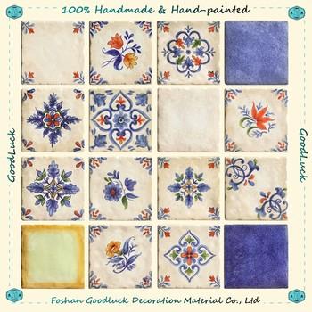 Por Design Handmade Italian Companies Ceramic Tile 15x15