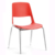 Steel Leg plastic Guest chair Stackable Low price plastic visitor chair office chairs