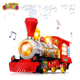 Bubble Blowing Toy Train with Lights and Sounds