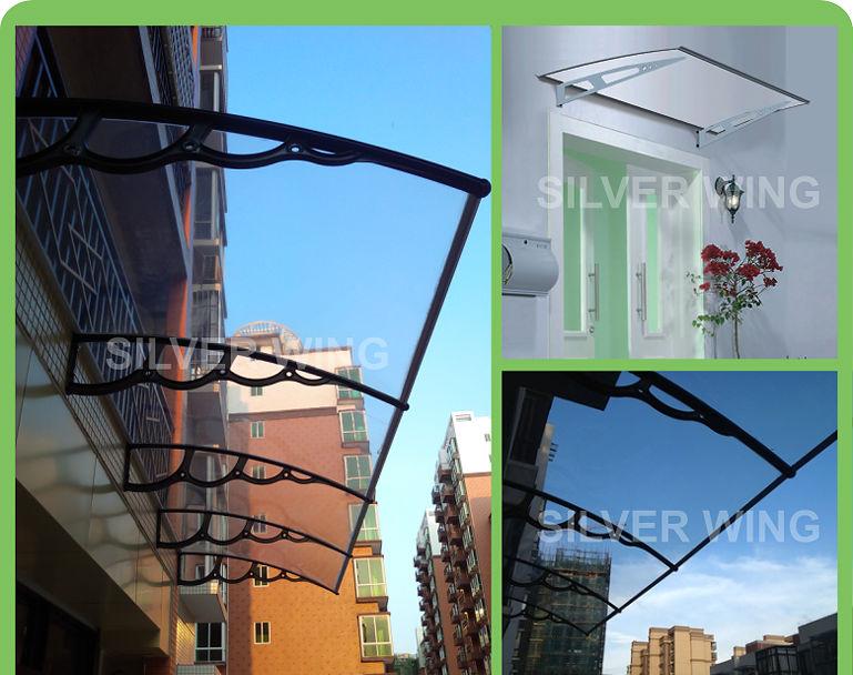 DIY polycarbonate door canopy with plastic bracket support & Diy Polycarbonate Door Canopy With Plastic Bracket Support - Buy ...