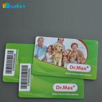Credit Card Size Printed CR 80 Full Color Plastic PVC Card Printing