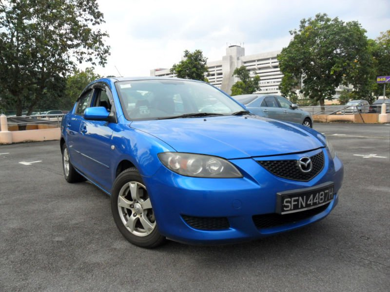 Mazda 3 1 6a Year 2004 Blue In Colour For Export Buy 2006 Mazda 3