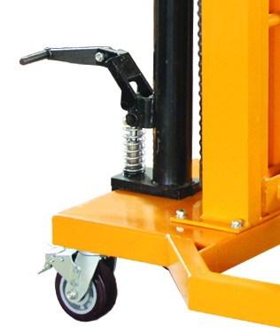 hydraulic painting barrel bucket beer keg oil 300Kg drum weighing carrier