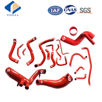 Universal turbo silicone radiator hose tube kit