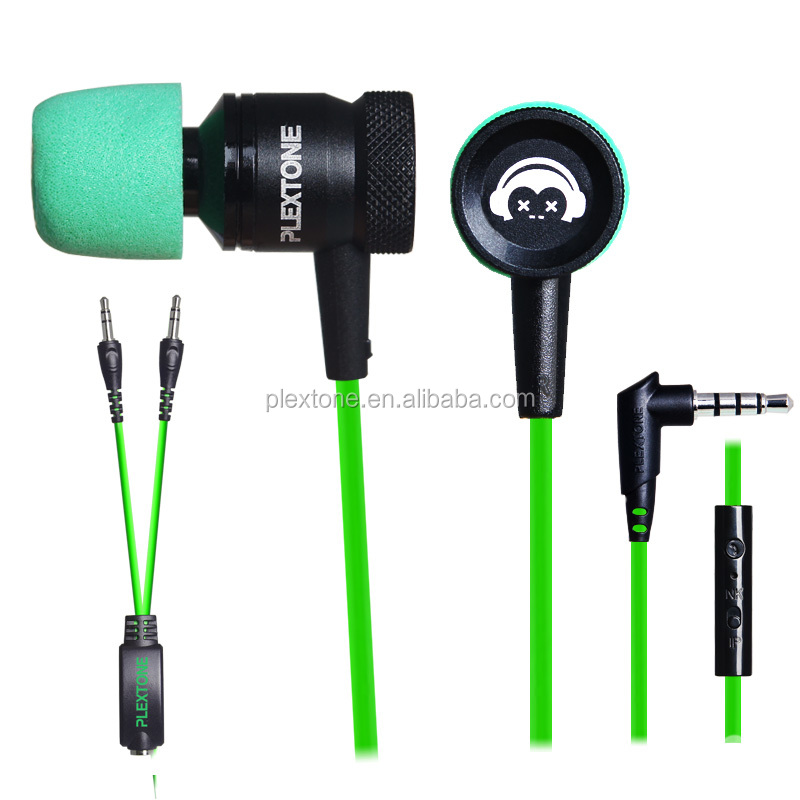 earphone at factory price stereo newest earphone green mini earbuds