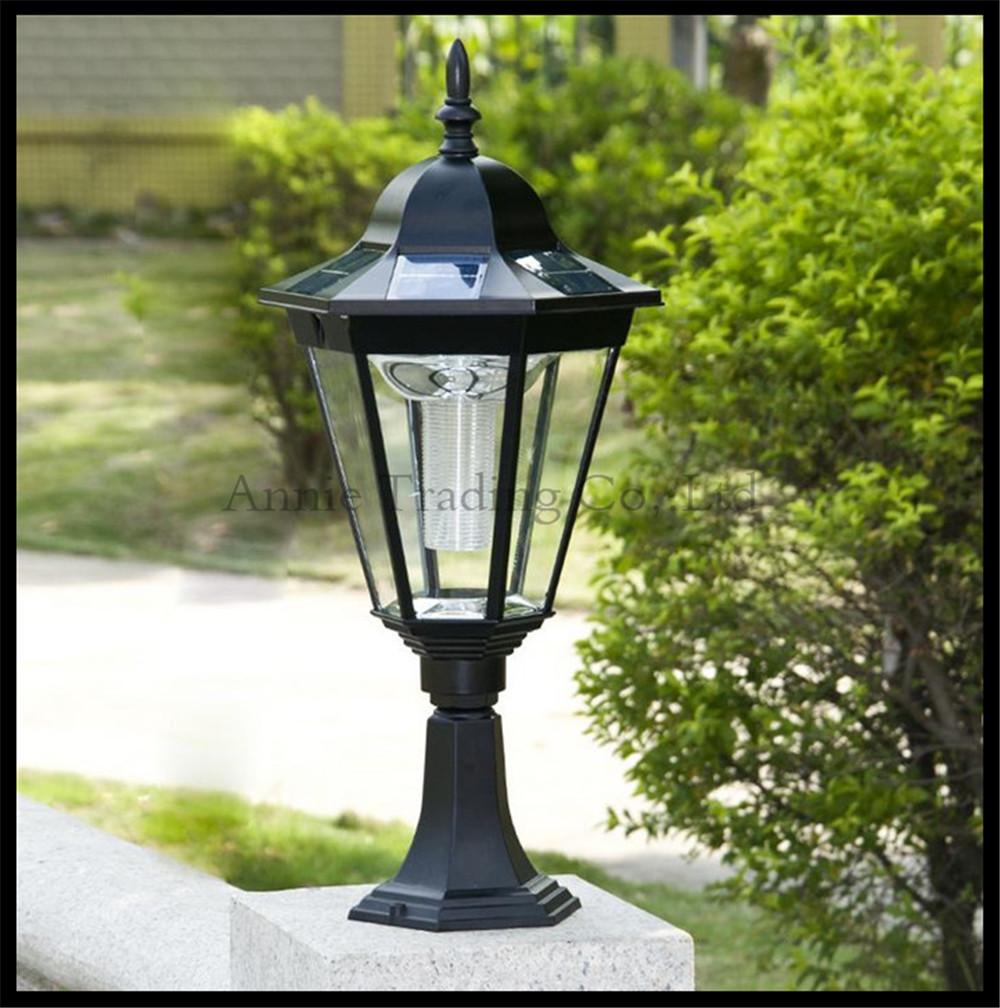 Landscape Lighting Online: Online Buy Wholesale Solar Pillar Lights From China Solar