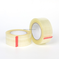 Transparent Clear BOPP Packing Tape Carton Sealing Use Adhesive Tape