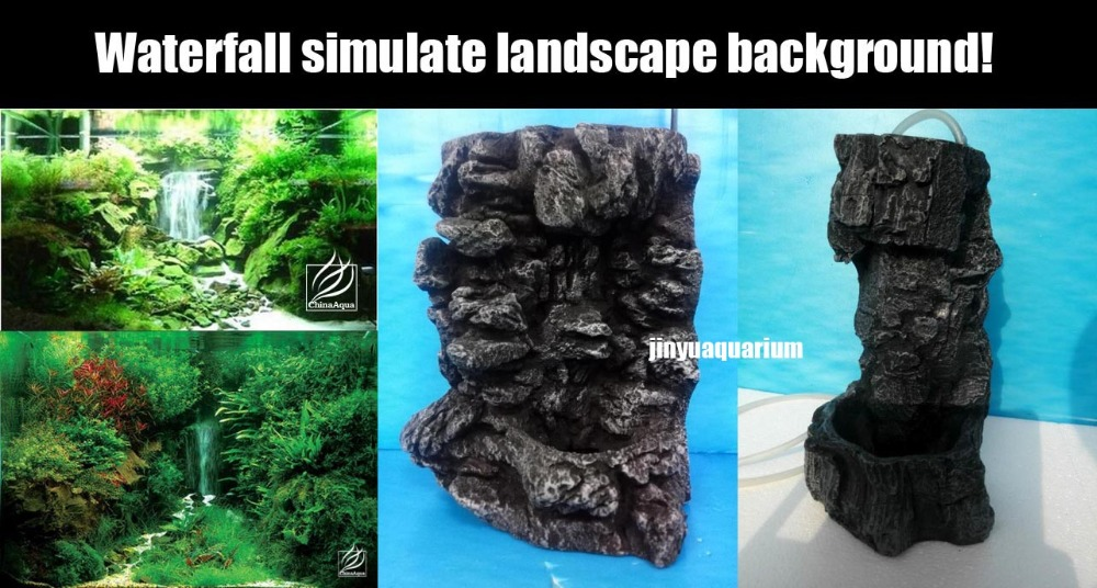 Online Buy Wholesale aquarium sand waterfall from China