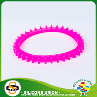 Custom plain powder silicone wristbands for sports brand colors plain
