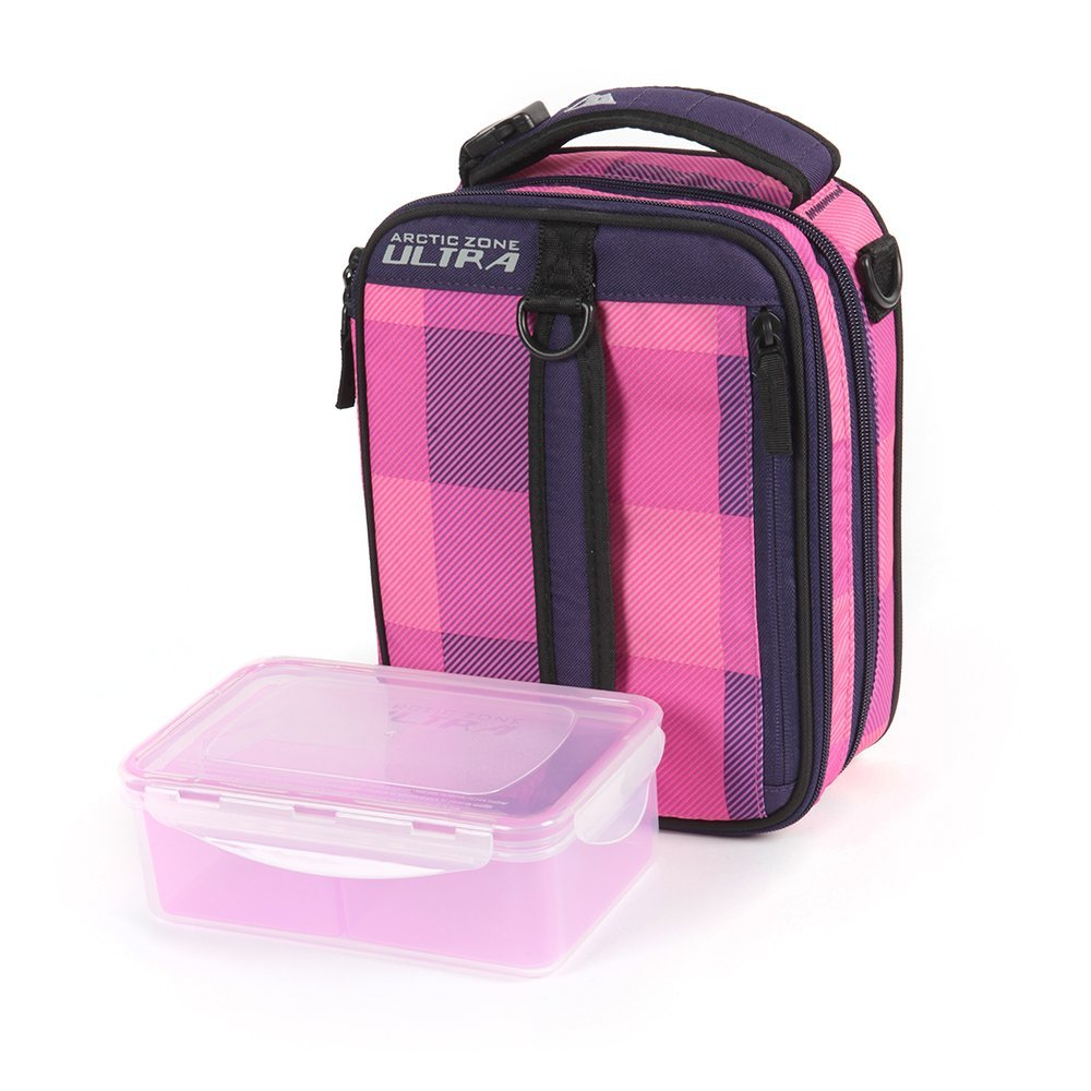Arctic Zone High Performance Expandable Lunch Pack Pink