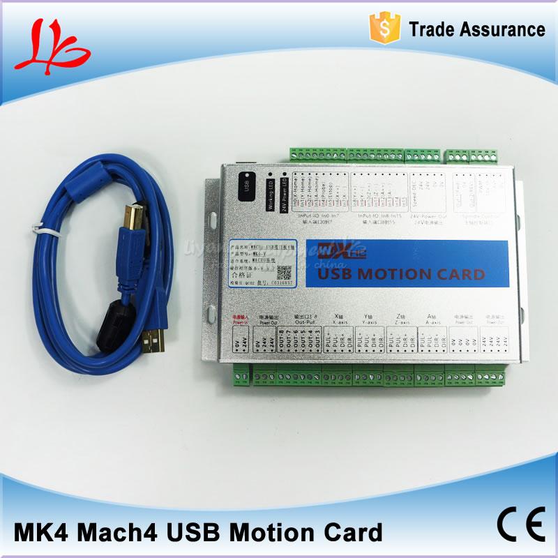 Original Xhc Mk4 4axis Mach4 Usb Motion Control Card For Cnc Machine 2mhz  Support Win7 - Buy Cnc Machine,4axis Mach4 Usb Motion Control Card For Cnc