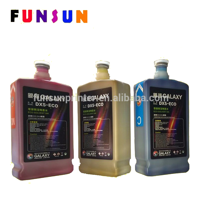 Branded Dx5 Eco Solvent Ink For Large Format Outdoor Eco Solvent Printer