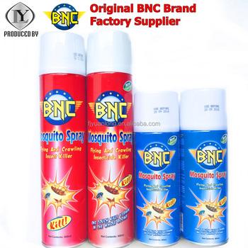 china fujian original bnc brand mosquito insecticide killer spray