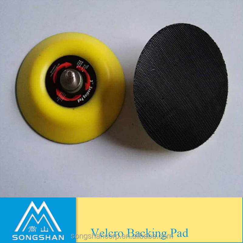 "3"" velcro backing pad M6"