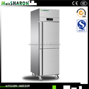 Stainless Steel Commercial Kitchen Cabinet CE Certificate Refrigerator Freezer