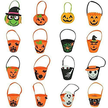 Happy Halloween Decorations Favors Trick or Treat Bag Festival Decoraptions Supplies
