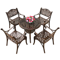 Waterproof Cast Aluminum Outdoor Garden Furniture