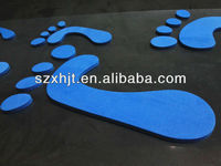 removable feet stickers wall decoration