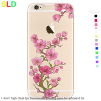 custom made free sample mobile phone case for iphone 6 6s