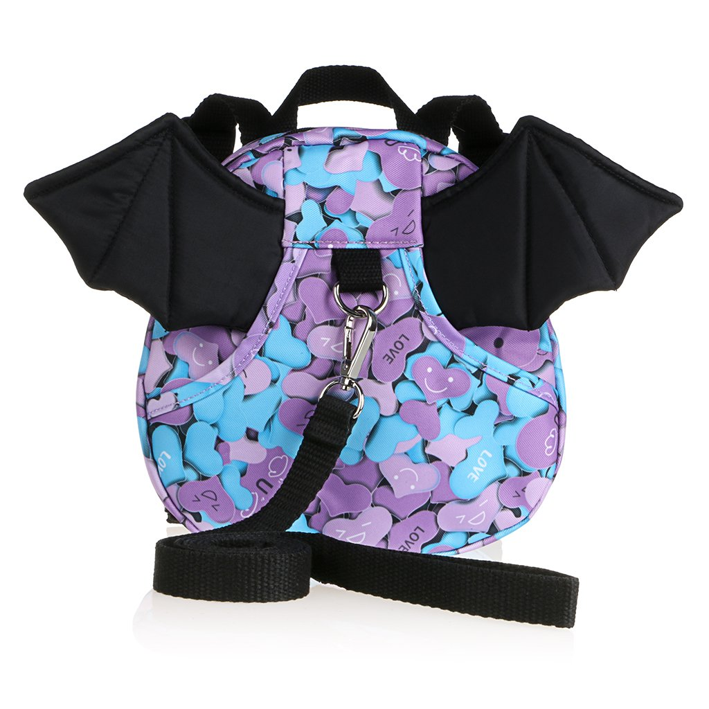 Hipiwe Baby Toddler Walking Safety Backpack with Leash Little Kid Boys  Girls Anti-lost Travel 6ce6b272a5