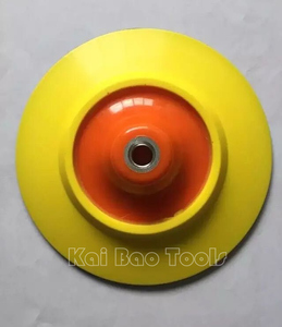 150mm 6inch Polishing Backup Pad M10 M14 M16 Backing Pad