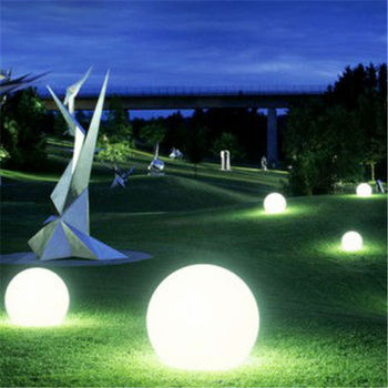 Rechargeable Led Sphere Light For Garden Decoration Big