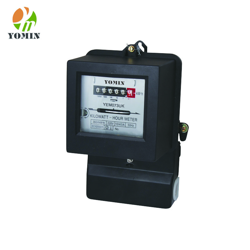 Single phase two way electromechanical 220V kwh electric energy monitor meter