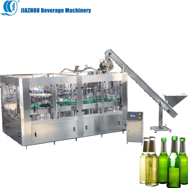 Rotating Carbonated drink beverages Liquid  Beer filling machine