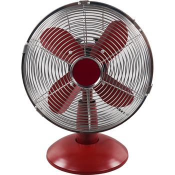 16 Inch(40CM) Electric Retro Metal Table Fan/12inch Metal Fan Brushed Nickel
